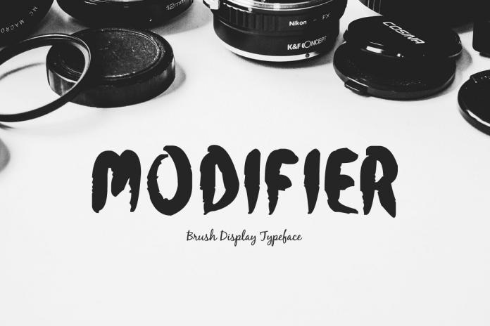 Modifier Regular Font