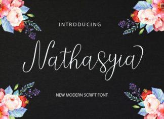 Nathasyia Script Font