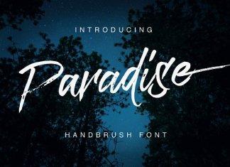 Paradise Typeface Font