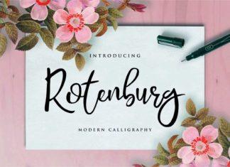 Rotenburg Font