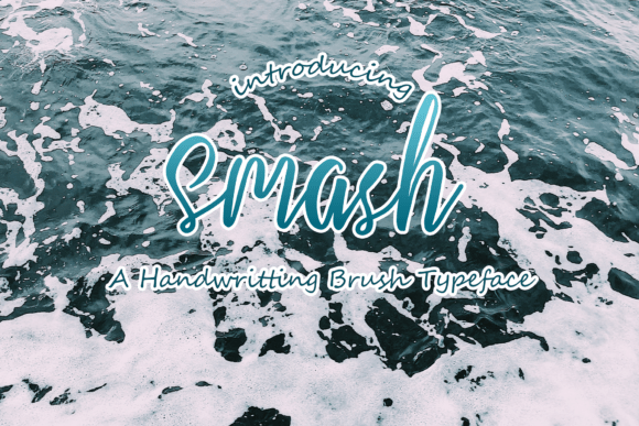 Smash Script Font