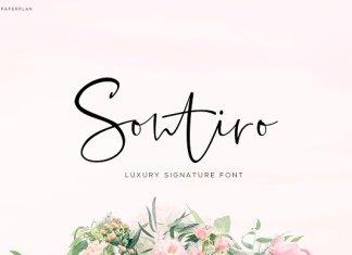 Sontiro - Signature Typography