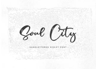 Soul City Font