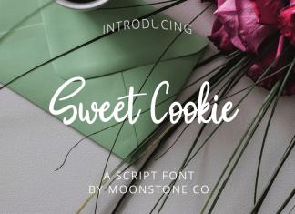 Sweet Cookie Handwritten Script Font