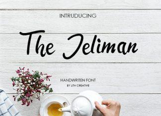 The Jeliman Font