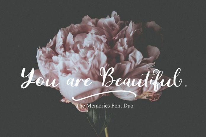 The MemoriesScript Font