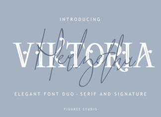 Viktoria Duo Font