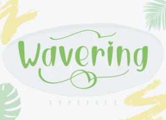 Wavering Font