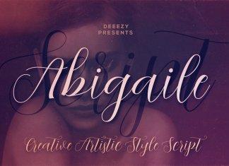 Abigaile Script Font