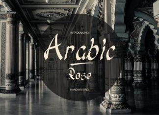 Arabic Rose Font