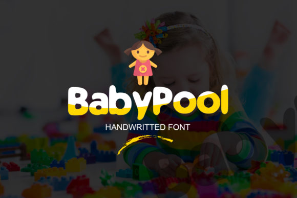 Baby Pool Font