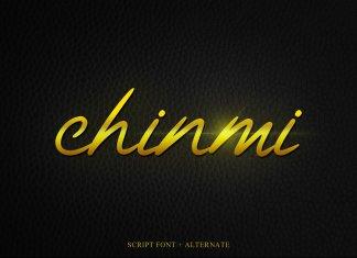 Chinmi Script Font
