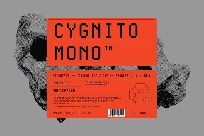 Cygnito Mono Font