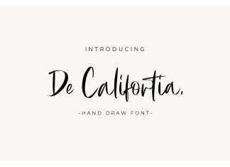 De Califortia Font