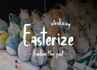 Easterize Font