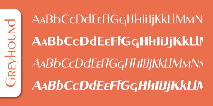 Greyhound Font Family