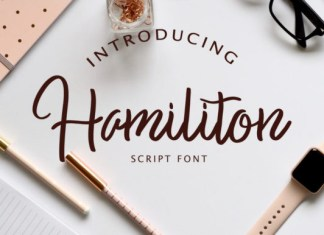 Hamiliton Font