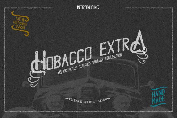 Hobacco Extra Font