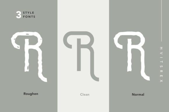 Hvitsrex Font