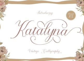 Katalyna Script Font
