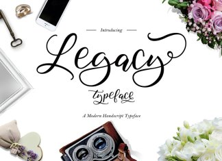 Legacy Typeface Font