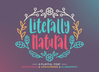 Literally Natural Font