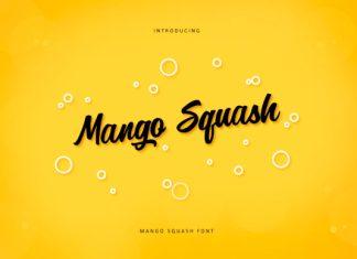 Mango Squash Font