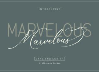 Marvelous Duo Font