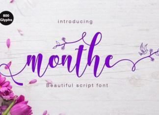 Monthe Font