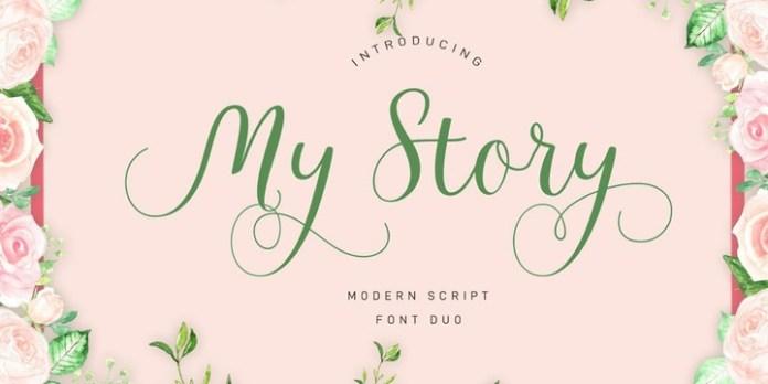 My Story Font Family