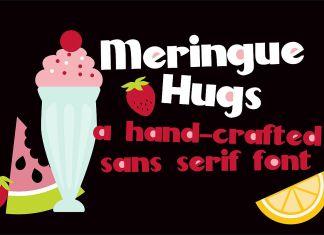 PN Meringue HugsRegular Font