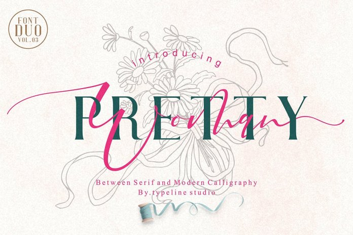 Pretty Woman || Couple Font Duo