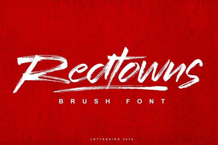 Redtowns Font