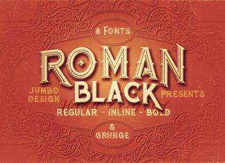 Roman Black Family