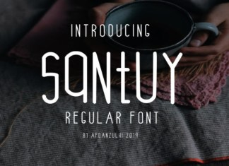 Santuy Font