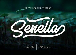Senella Script Font