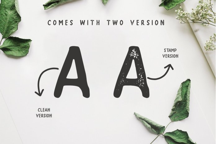 SUPER - A Handwritten Sans Serif