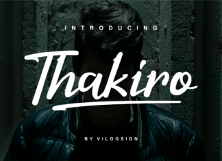 Thakiro Font
