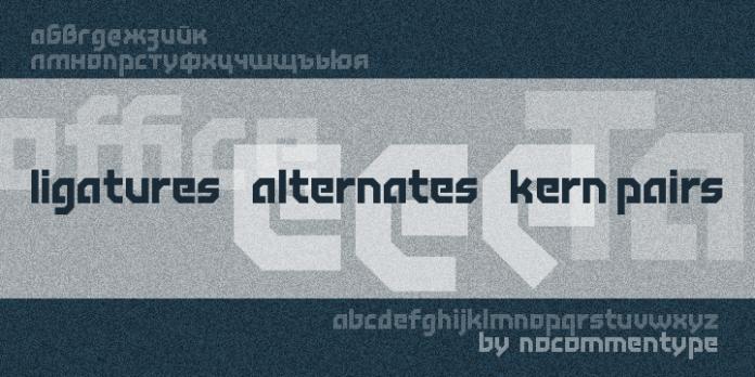 Tichy Font