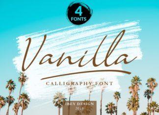 Vanilla Family Font