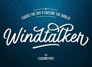 Windtalker Font