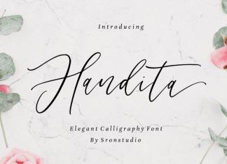 Handita - Calligraphy Font