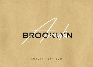 Arcadia & Brooklyn - Luxury Font