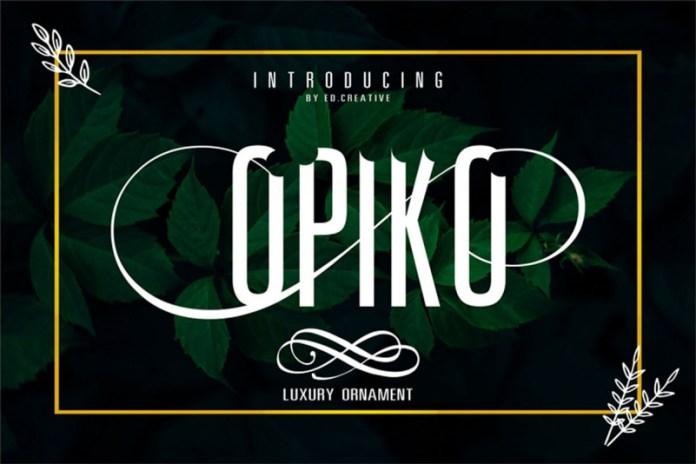 Opiko Font