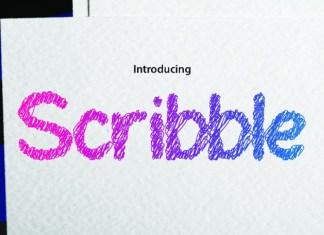 Ink Scribble Font