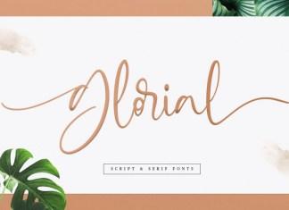 Glorial Font Duo | Script & Serif