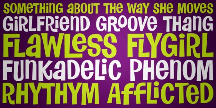 Flawless Flygirl PB Font