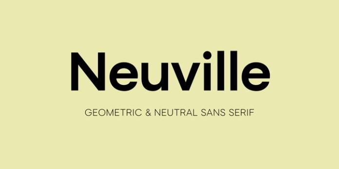 Neuville Font Family