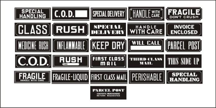 Old Labels JNL Font