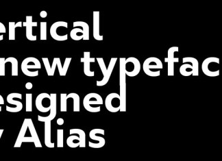 Vertical Font Family